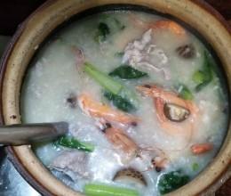 春菜排骨粥