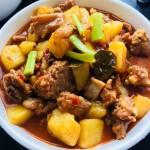 紅燒土豆燉排骨