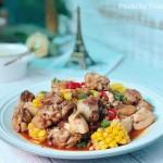 肉燥豆花雞—下飯菜