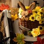 暖秋主题奶油霜裱花蛋糕#马卡龙·奶油蛋糕看过来#