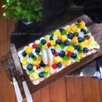 奶油水果蛋糕#暖色秋季#