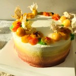 春华秋实#暖色秋季#马卡龙·奶油蛋糕看过来#