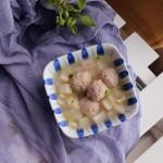 莲藕肉丸汤