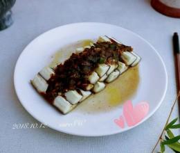 蒜豉椒椒拌蒸茄