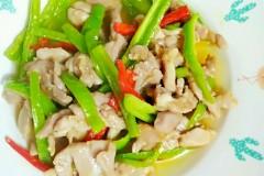 柿子青椒炒肉