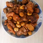 板栗香菇鸡
