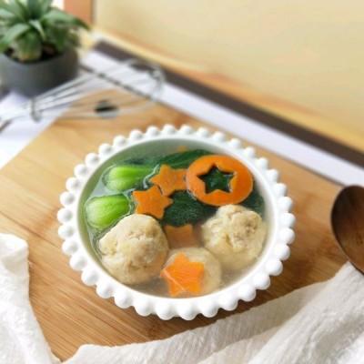 肉丸蔬菜汤#百吃不厌家常菜#