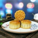 广式芝麻馅月饼