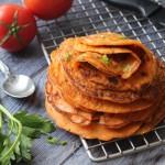 汁杂茄蔬煎饼
