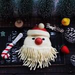 萌萌噠的圣誕老人饅頭