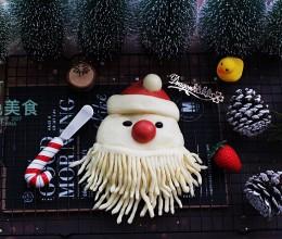 萌萌哒的圣诞老人馒头