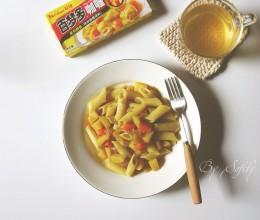 #百梦多圆梦季#素食咖喱通心粉