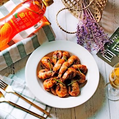 油爆虾#舌尖美味,油你掌勺#