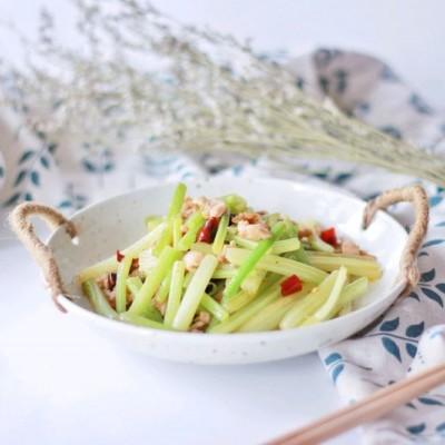 【一食呓语】芹菜炒肉丝