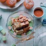开心果杏干牛轧糖&花生蔓越莓牛轧糖
