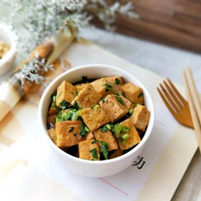 香菜烧豆腐