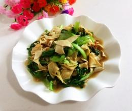小青菜炒千张
