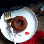 可可味甜甜圈