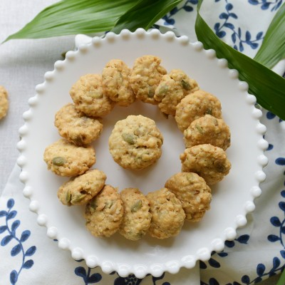 燕麦果仁饼干