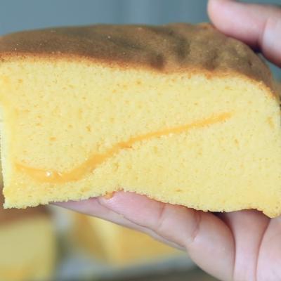 古早味蛋糕(芝士夹心)