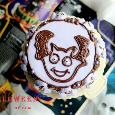 万圣节恶魔蛋糕