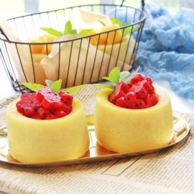 蛋糕水果杯