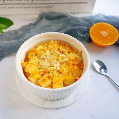 清新香甜的早餐—香橙烤吐司