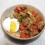 日式炖猪肉拌饭