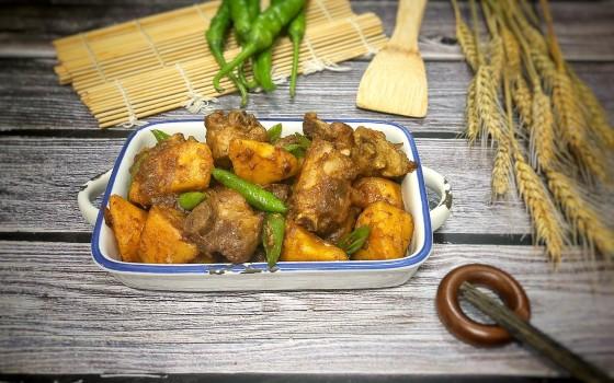 红薯换个吃法:红薯烧排骨