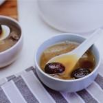 竹荪红枣甜汤