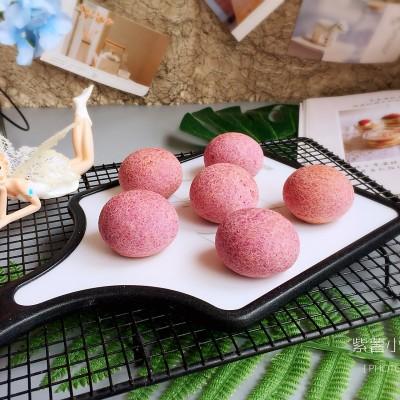 紫薯小小麻薯包(簡單快手小甜品)