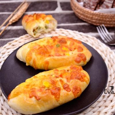 彩蔬芝士面包
