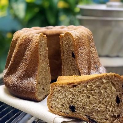 糕一三班——烫种巧克力咕咕霍夫面包