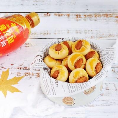 杏仁桃酥#金龙鱼舌尖美味·油你掌勺#