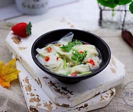 韭菜海米馄饨