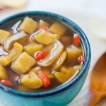 枸杞栗薯甜汤