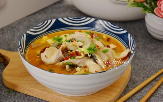 豆腐鱼片锅