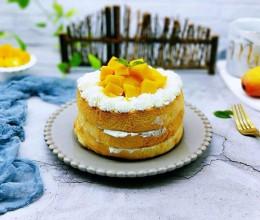 芒果裸蛋糕