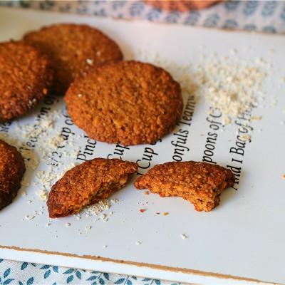 无需面粉的燕麦坚果早餐饼干