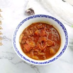 番茄炖牛肉