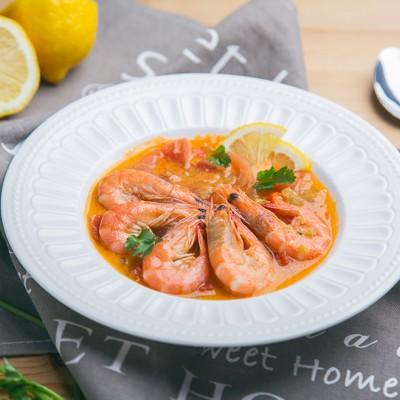 番茄椰奶虾