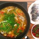 清湯炒魚火鍋