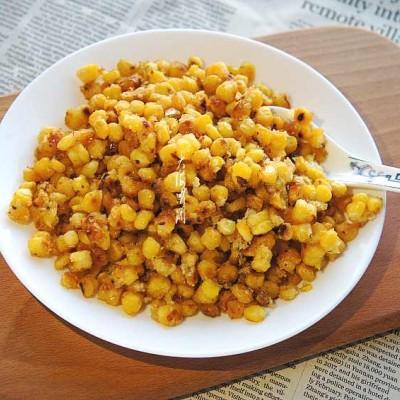 奶香玉米粒#特色菜#