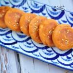 红薯蛋黄饼