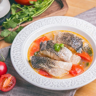 番茄黑鱼汤