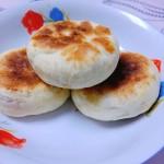 红糖核桃馅儿饼(发面饼)