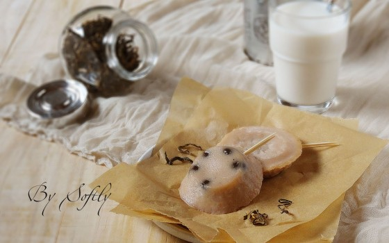 """珍珠奶茶味钵仔糕-这是一款可以嚼的""""奶茶"""""""