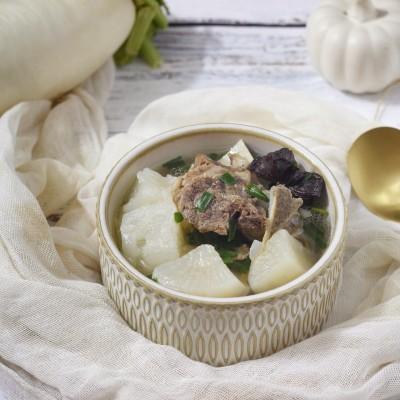 白蘿卜牛脊骨湯(快手高壓鍋版)