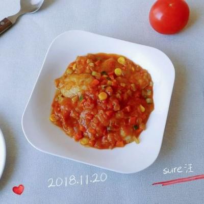 姜酱胡洋红烩鱼