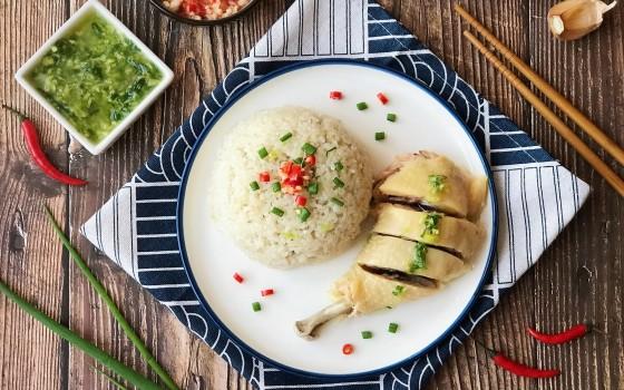 东南亚经典美食 海南鸡饭#风味人间#